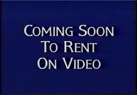 Walt Disney Studios Home Entertainment Buena Vista Coming Soon To Rent On Video Logo 1998