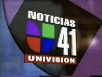 Wxtv now back to noticias 41 bumper 1996