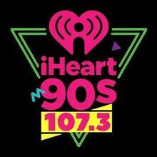 K297AK iHeart 90s 107.3 FM logo.jpg