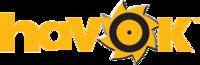 Havok logo CMYK reverse reg