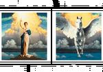 Columbia TriStar Home Entertainment logo (White)