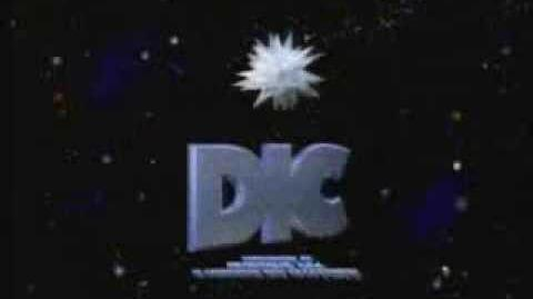 """DIC Entertainment Logo With Byline (1990) """"Short Variant"""""""