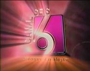 Ident Canal 6 (El Salvador) - 1998