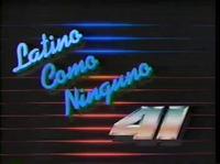 WXTV Latino Como Ninguno 1987
