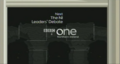 BBC One NI Number 10 Downing Street Coming up Next bumper