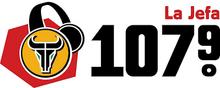 KFZO La Jefa 107.9 logo.png