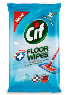 Cif Antibacterial Floor Wipes