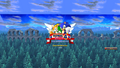 Sonic the Hedgehog 4 Episode 2 Title with back button