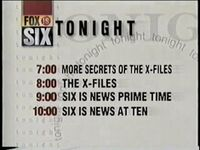 WITI FOX LINEUP 1996