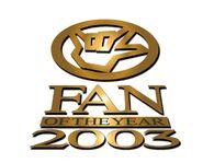 Fan of the Year 2003