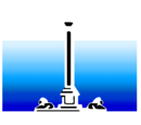 Nelson Entertainment Color print logo (Inverted)