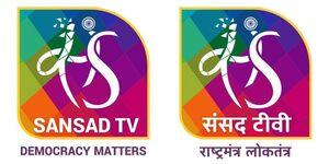 Sansad TV English and Hindi logo