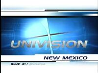 Univision New Mexico 5pm Package 2002