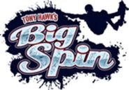 Tony Hawk's Big Spin logo (with skater)