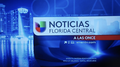 Wven noticias univision florida central 11pm package 2015