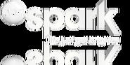 ABC Spark white logo