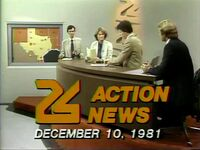 KVUE Action News 6PM 1981