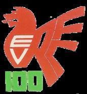 Ebbw Vale RFC 1979 Centenary logo
