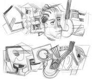 Google Juan Gris' 125th Birthday (Storyboards 1)