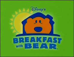 Breakfast with Bear