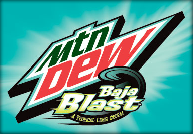 Mtn Dew Baja Blast