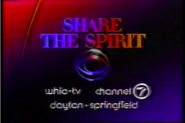 WHIO-TV Share the Spirit of CBS 1986
