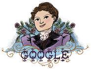 Google Henrietta Edwards' 165th Birthday (Version 2)