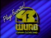 WUAB Channel 43 Plays Favorites 1986