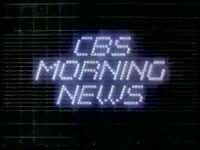 CBS Morning News 1982 a