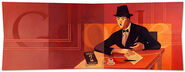 Google Fernando Pessoa's 123rd Birthday