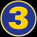 TV3 logo 90s