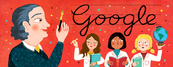 Google Juana Manso's 198th Birthday