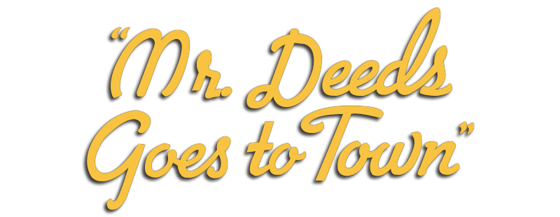 Mr. Deeds Goes to Town (film)