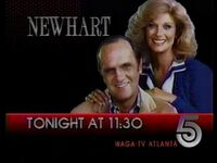 WAGA Newhart 1988 ID