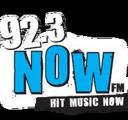 WXRK-FM's The New 92.3 Now-FM Logo From 2009