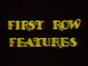 First Row Features