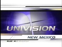 Univision New Mexico 10pm Package 2002