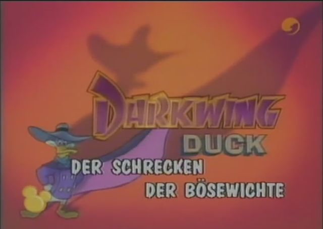 Darkwing Duck/International Title Cards