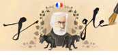 Google Celebrating Victor Hugo