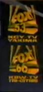 KCY-TV FOX 53 KBW-TV FOX 66 1990.png