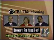WTLK CBS This Morning promo 1993