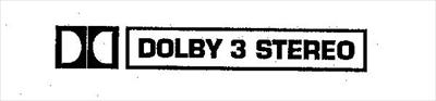 Dolby 3 Stereo