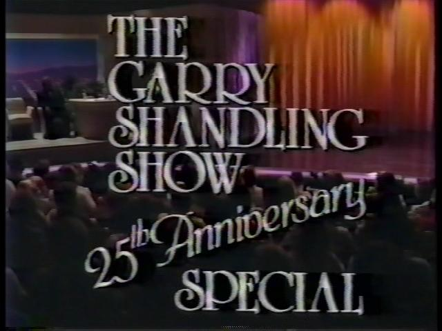 The Gary Shandling Show: 25th Anniversary Special