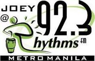 Joey @ Rhythms 92.3 Logo.PNG