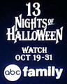 Abc family 13 nights of halloween logo 2014