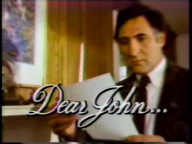 Dear John...