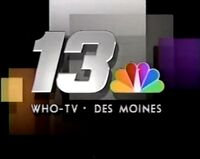 WHO-TV Channel 13 Come Home to the Best 1989