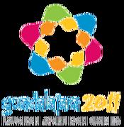 Guadalajara logo for the 2011 Parapan American Games.png
