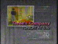 KRIV 26 Three's Company Promo 1986