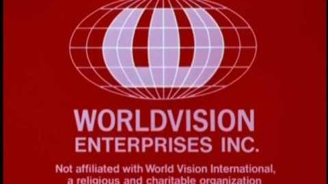 "Worldvision ""Red Radar Globe"" Logo (1974-A) ""Silent"""